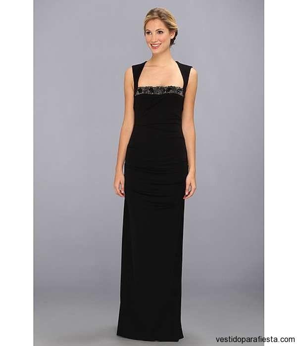 Vestidos largos de fiesta color negro