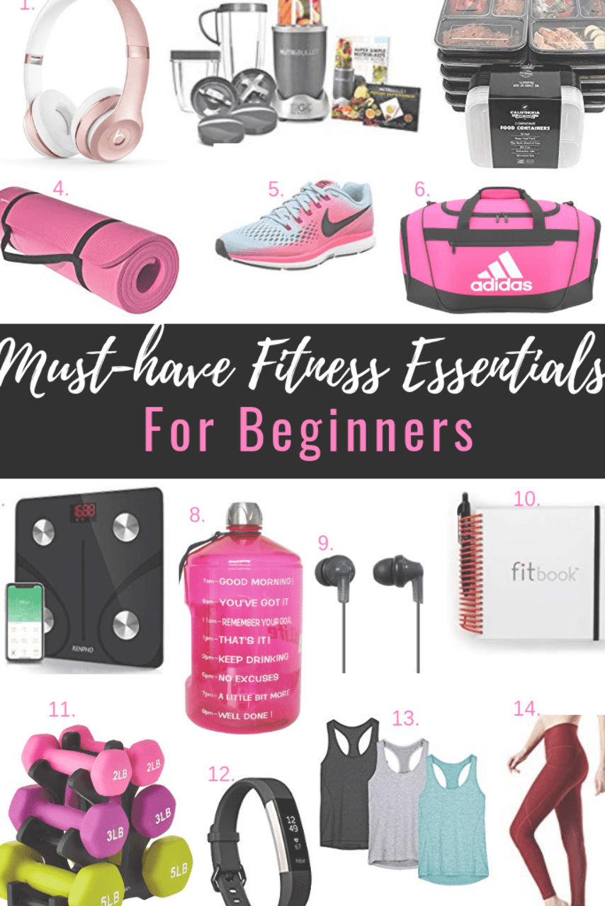 Must-have fitness essentials for beginners. #fitness #exercise #healthandfitness #workout #fitnesses...