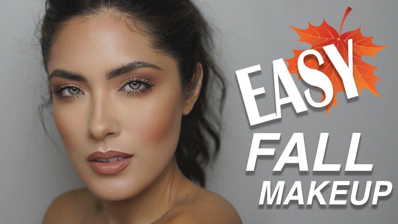 Super easy monochromatic fall makeup tutorial melissa alatorre super easy monochromatic fall makeup tutorial melissa alatorre youtube baditri Choice Image