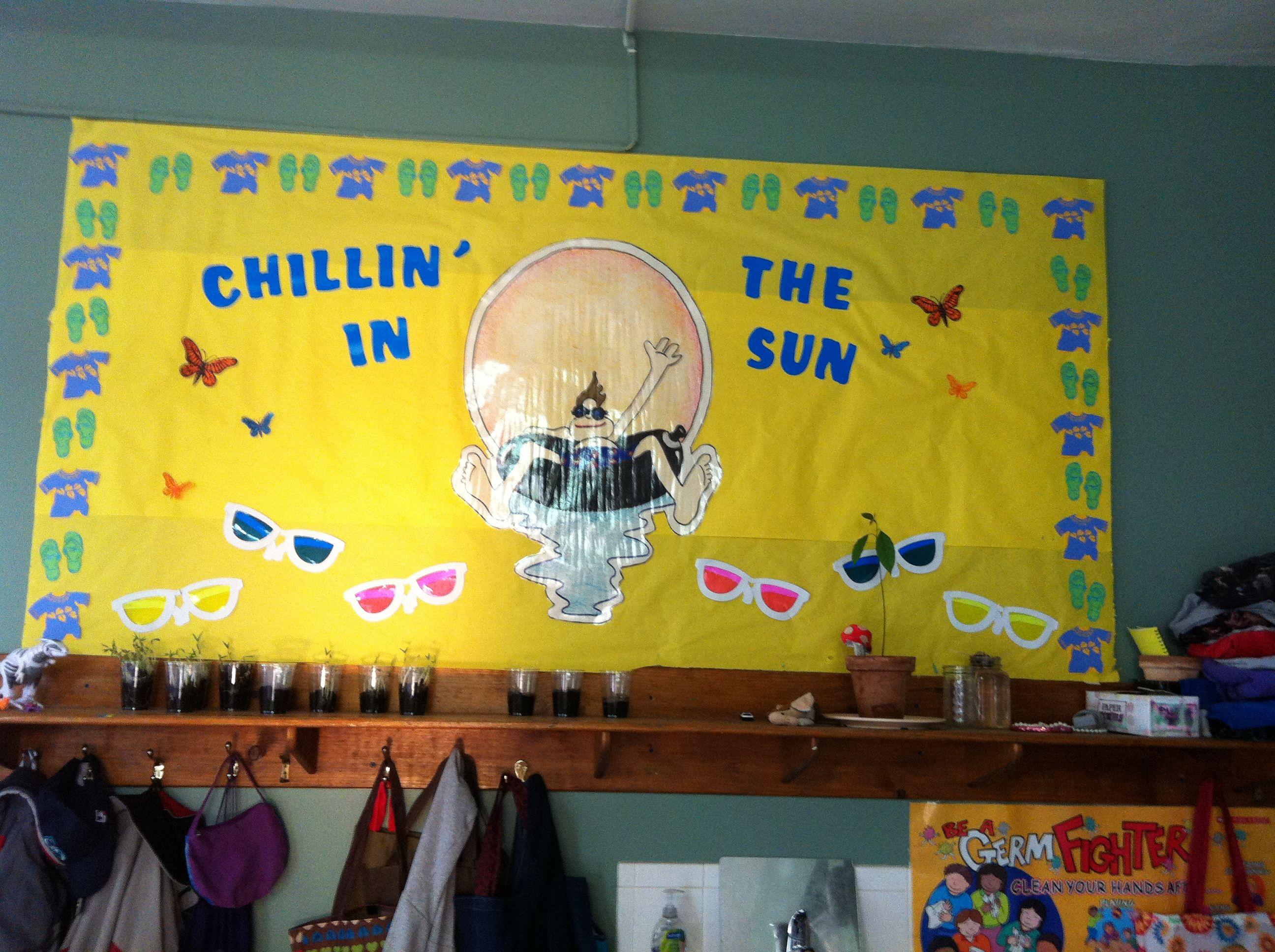 Bulletin Board for Daycare Summer Camp | crafts | Pinterest ...