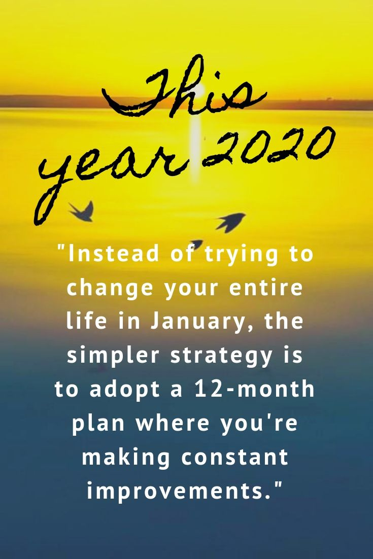 Pin by Lacey Goslin on Goals in 2020 New year resolution