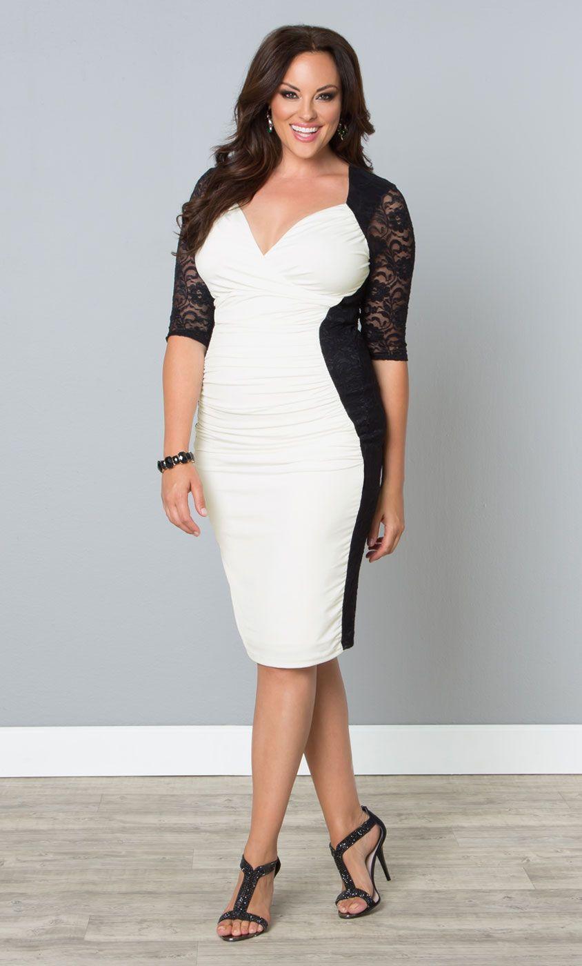 black and white cocktail dresses plus size wwwpixshark