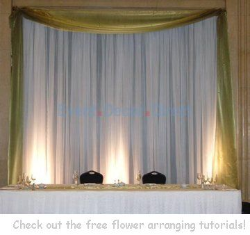 Wedding backdrop panels reception decorating ideas wedding event decor direct is a premier wholesale supplier of wedding decor items and event decorations their vast inventory of high style wedding products offers junglespirit Gallery
