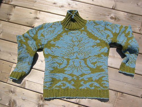 *Rowan Yarns*: Ravelry: dayana's Brocade - Rowan Wallpaper sweater