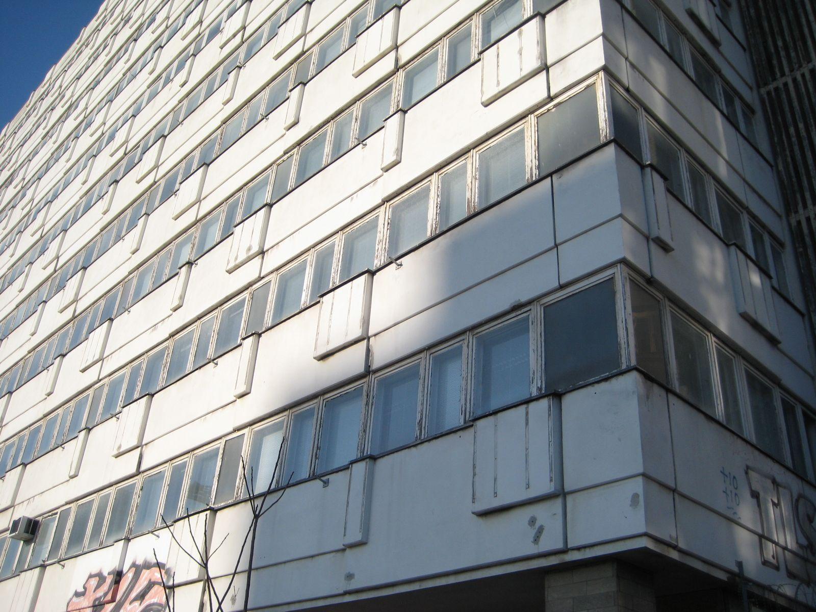 Manfred Hörner, Haus der Statistik, Alexanderplatz, 1968-70