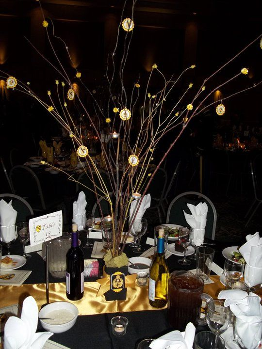 Military Ball Decorations Adorable Since Each Battalion Was Responsible For Providing Their Own Table Decorating Design