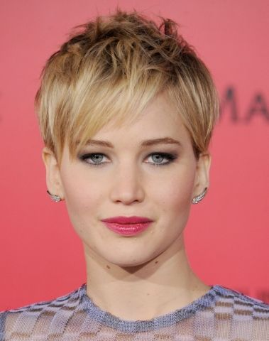 Jennifer Lawrence haircut Haircuts & hairstyles Hair