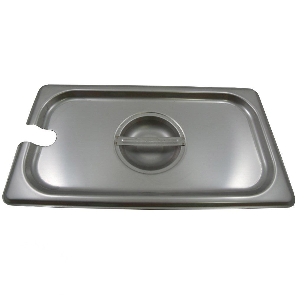 Cookware gt see more select by calphalon ceramic nonstick 8 inch an - Browne Cp8132nc Third Size Notched Steam Table Pan Cover Quickly View