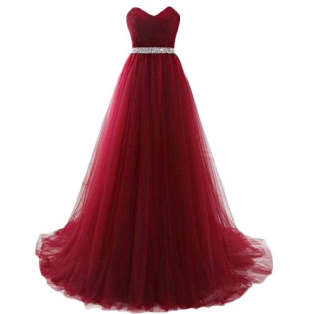 Angelsbridep burgundy royal blue prom dresses floor length