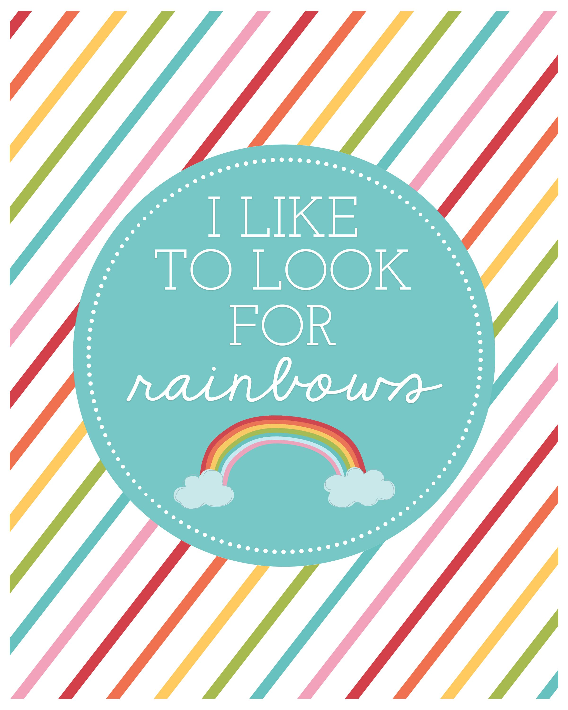 I-Like-to-Look-for-Rainbows-LDS-Baptism-Print.jpg (2400×3000) | LDS ...