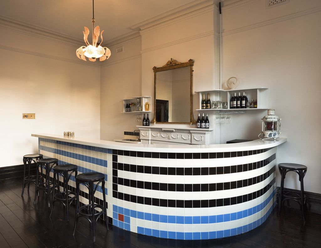 New Brunswick Bar Takes Design Cues From American West Coast Art Deco