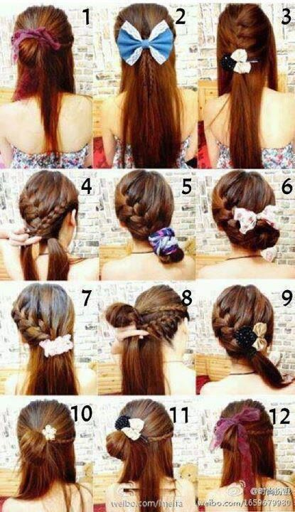 Cute hair ideas!