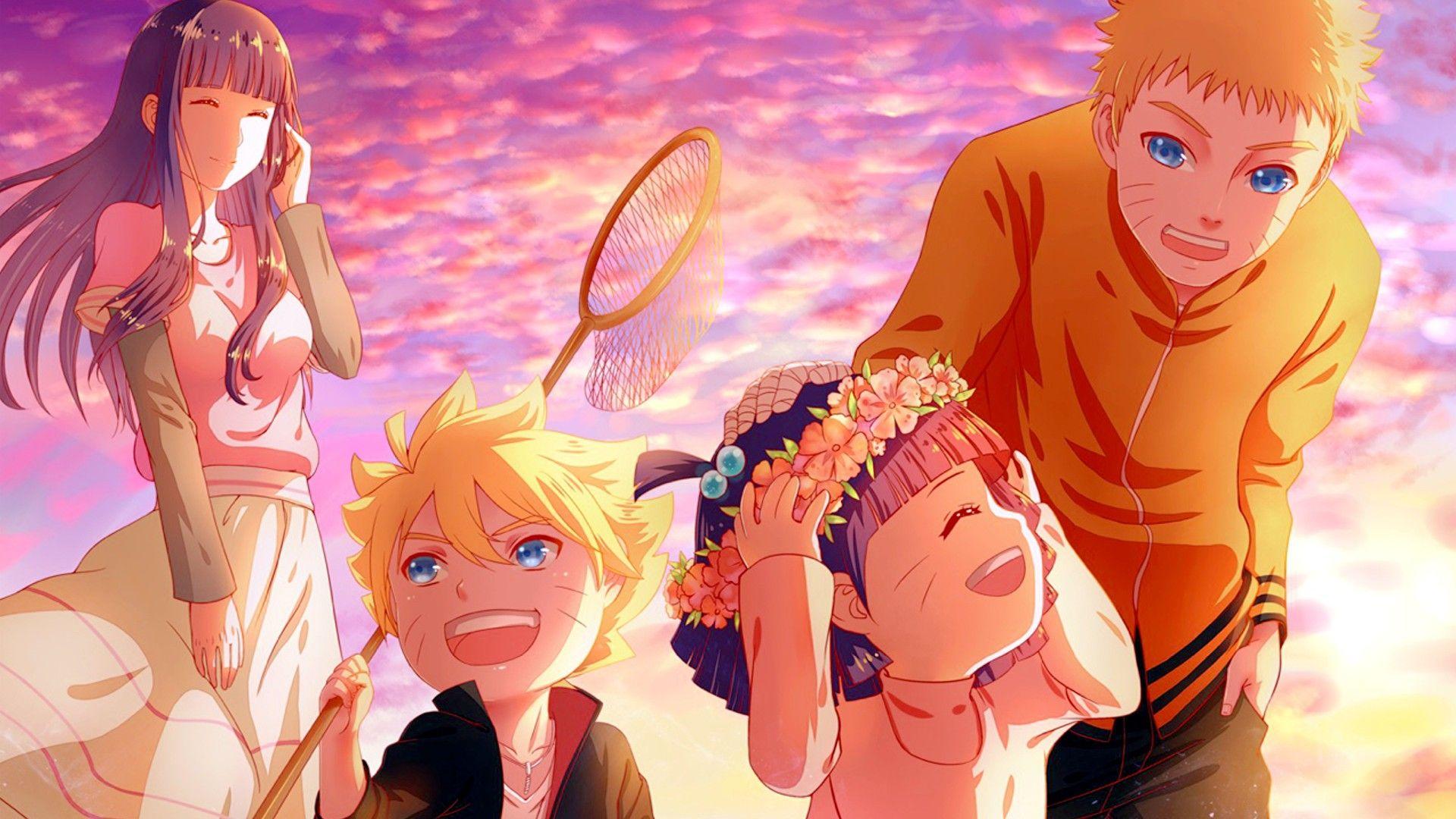 Anime 1920x1080 Uzumaki Naruto Hyuuga Hinata Uzumaki