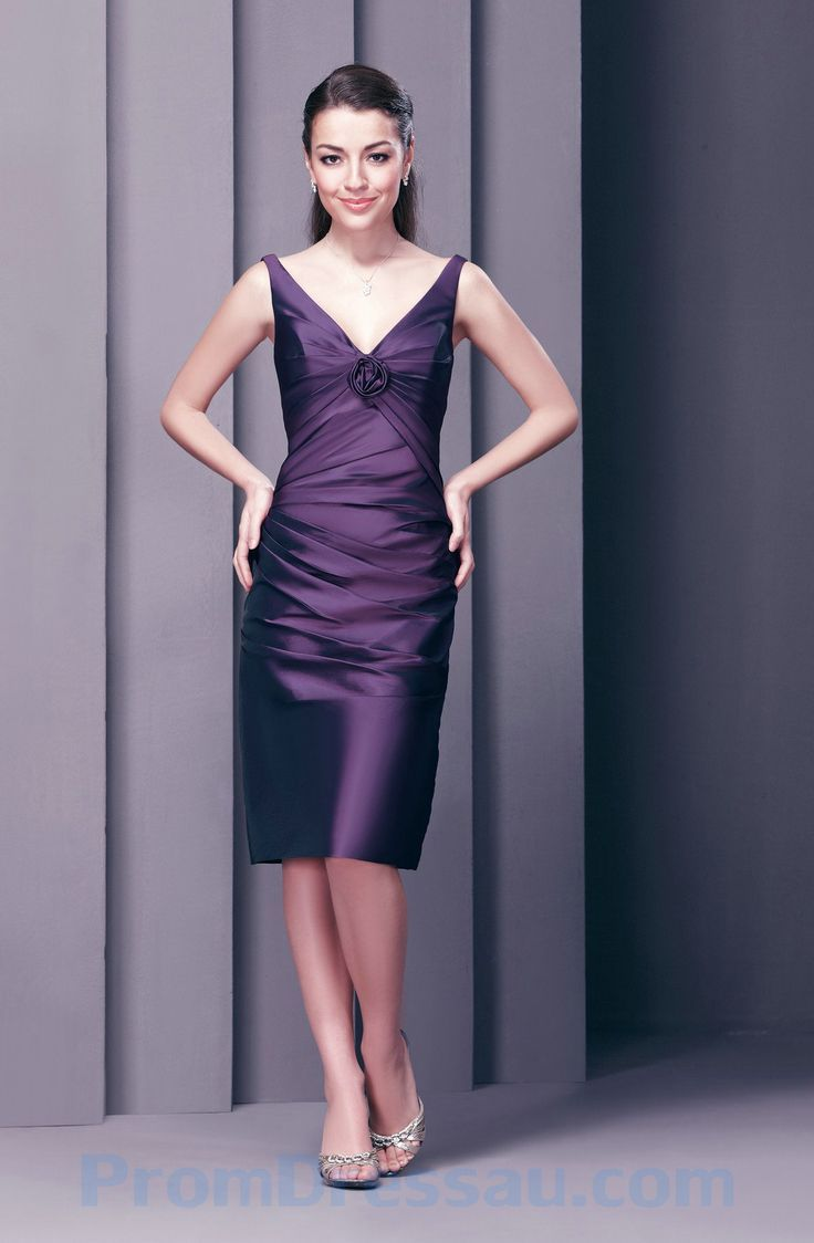 Purple Dresses For Weddings Knee Length Dress Country Wedding Guest Check More At Http