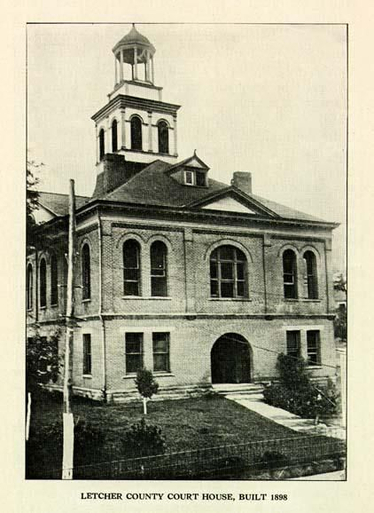 Letcher County Court House Built 1898 Appalachia My Old Kentucky Home Whitesburg