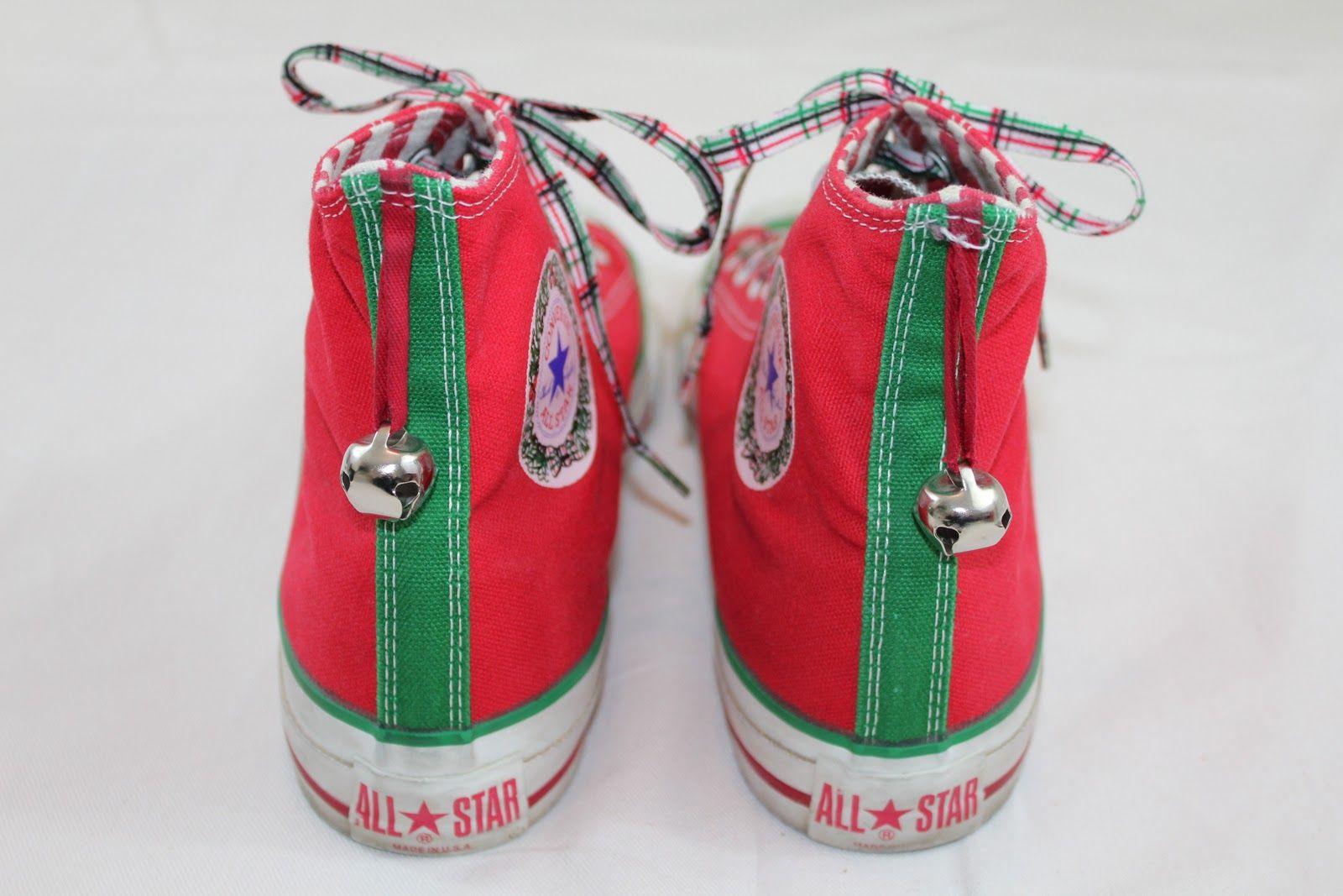 Converse All Star Chuck Taylor Christmas Edition | Converse all ...