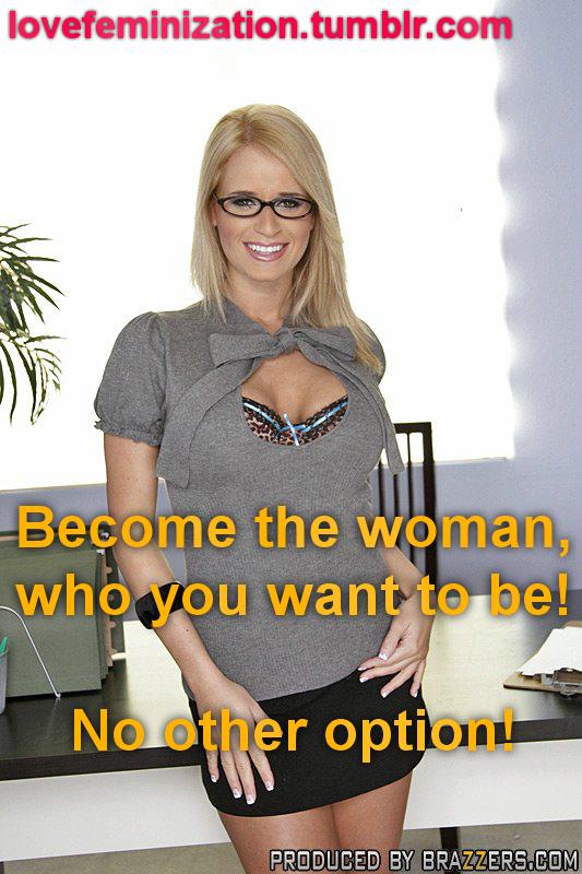 Transsexual feminization caption blogs