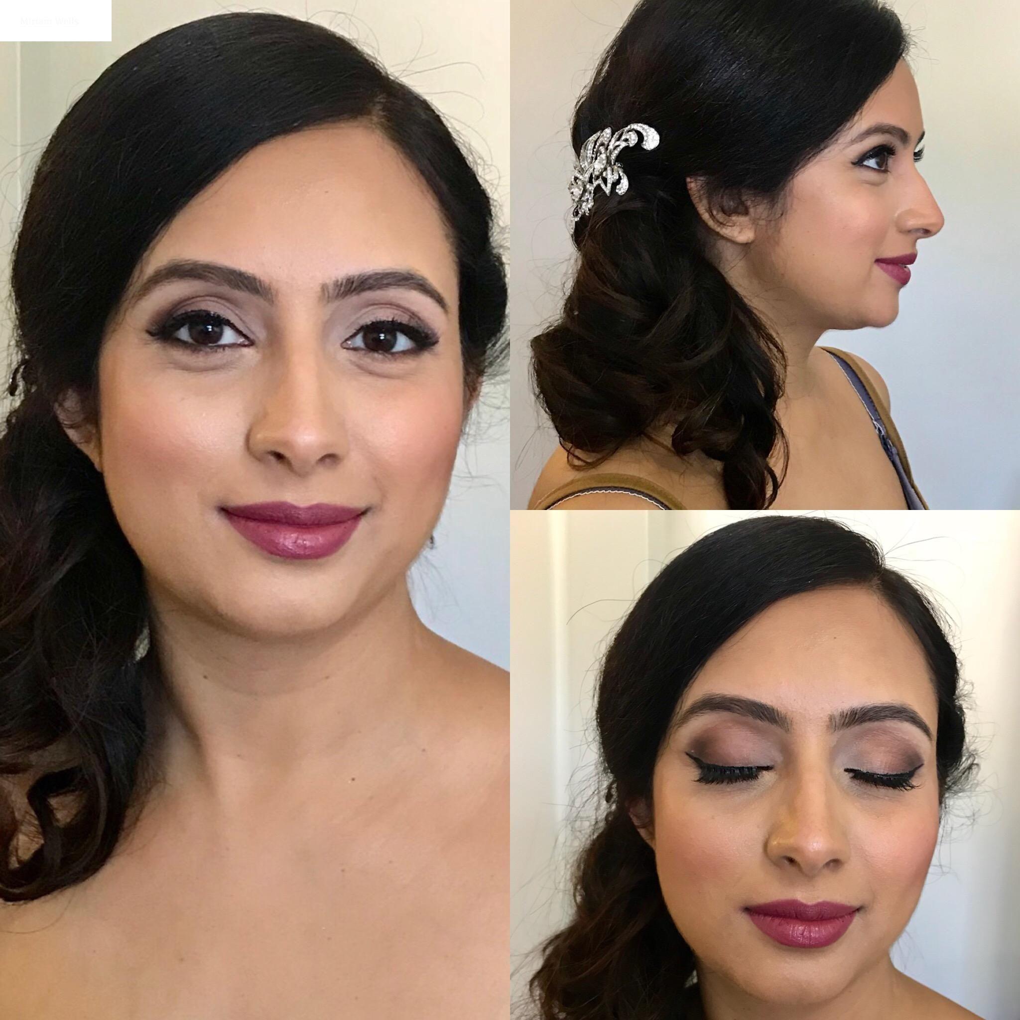Bridal Hair and Makeup Makeup by Miriam Bridal hair