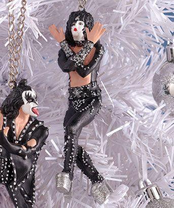 KISS Holiday Decor | Heavy metal christmas, Christmas ...