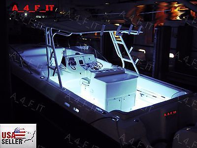 85823 Boat Parts White Led Boat Lights Kit Waterproof Pod Bright Led Strips Marine Interior Buy