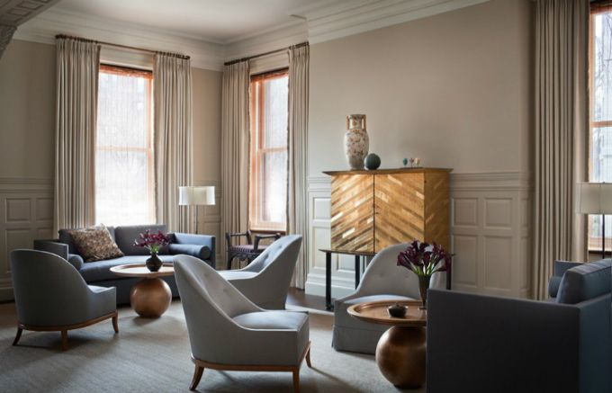 Thad Hayes Top Interior Designers In Nyc Best Inspiration Ad100 New York Design Boston Brownstone