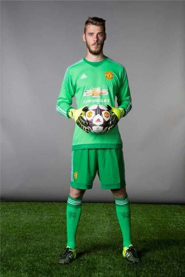 fd2630a95ab ... italy manchester united 1 de gea green goalkeeper soccer club jersey  864bf 9fa6a