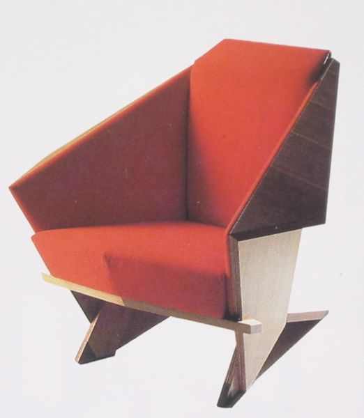 The Frank Lloyd Wright Origami Chair, I Got To Sit In One At Taliesin West