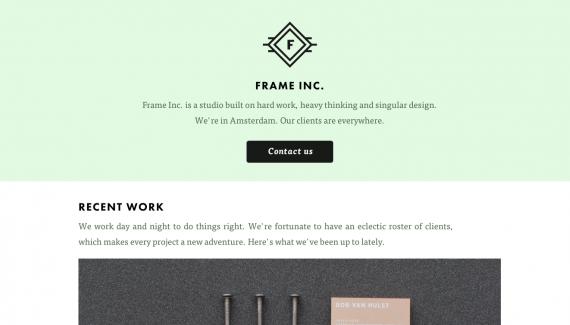 frame inc.