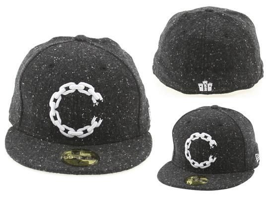CROOKS   CASTLES X NEW ERA 「C-Link Speckle」59Fifty Fitted Baseball ... f0958a9dff6