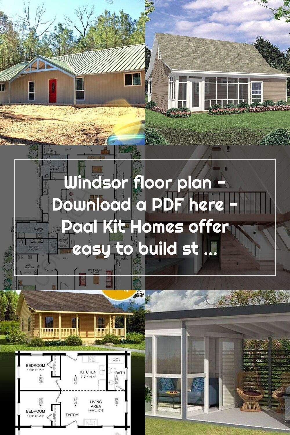 Windsor Floor Plan Download A Pdf Here Paal Kit Homes Offer Easy To Bui Kit Homes Floor Plans Flooring