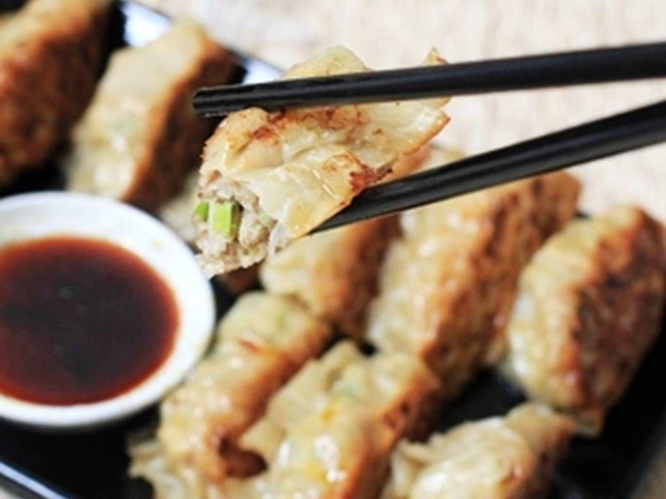 Resep Gyoza Dumpling Simpel Ala Rumah Oleh Tintin Rayner Resep Makanan Resep Resep Makanan