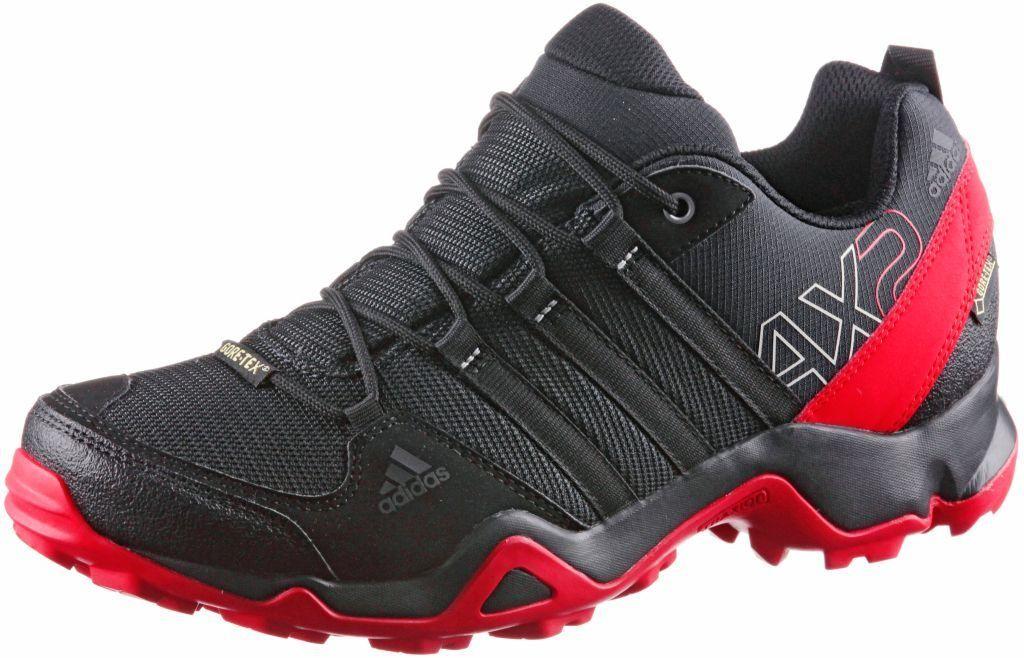 adidas #AX2 #GTX #Wanderschuhe #Herren #schwarzrot