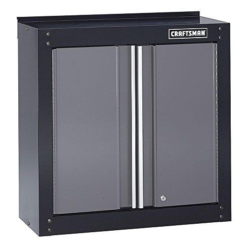 Kitchen Cabinets Ideas Craftsman 28 Wide Wall Cabinet Blackplatinum See This Great Product Note It Is Garage Wall Cabinets Tool Box Storage Wall Cabinet