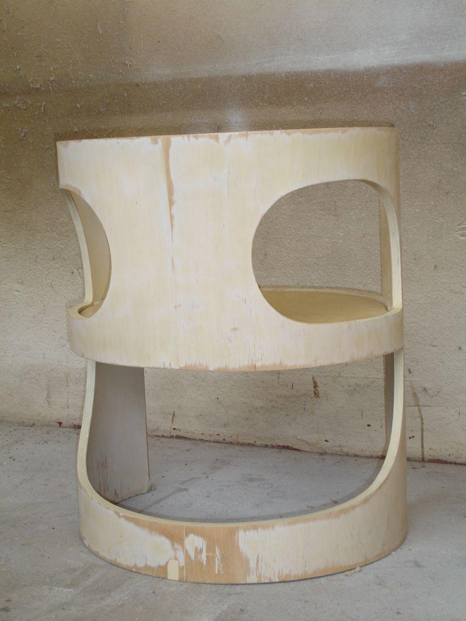 Arne Jacobsen chair before restoration