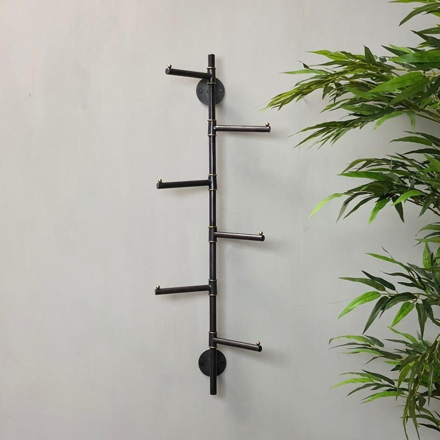 Wall Mounted Vertical Six G Coat Hooks In 2020