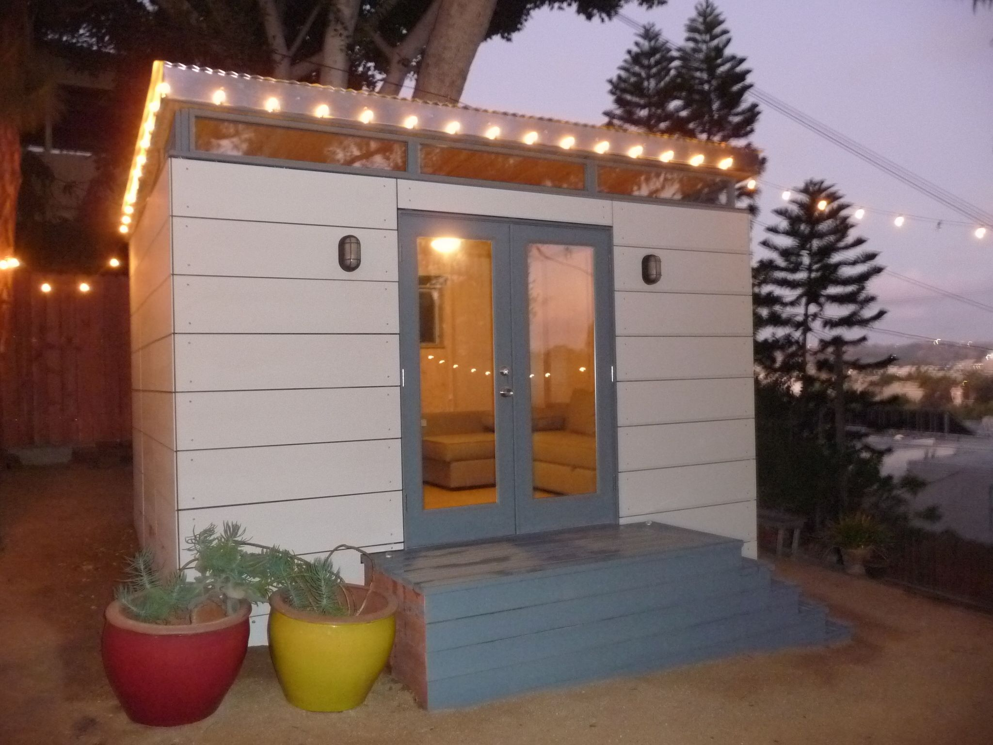 This 10X20 Modern-Shed will light up your life! | That