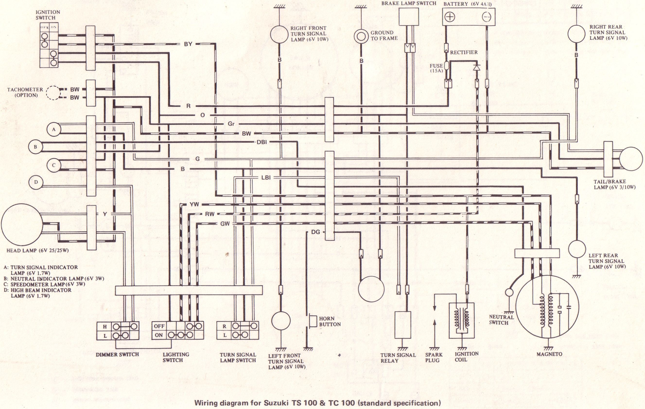 Fresh Wiring Diagram Suzuki Quadrunner  Diagrams