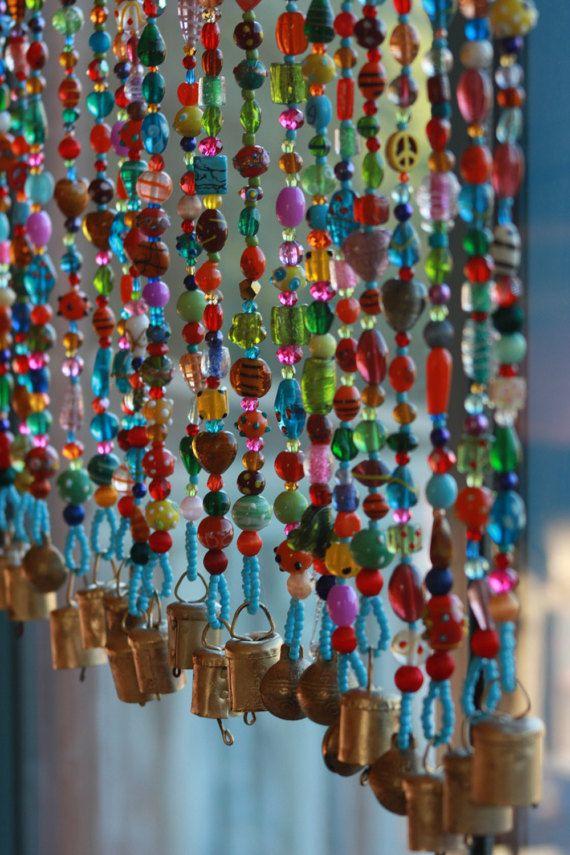Bided Curtain Gorgeous Spiritual Hanging Suncatcher It Is Made Of