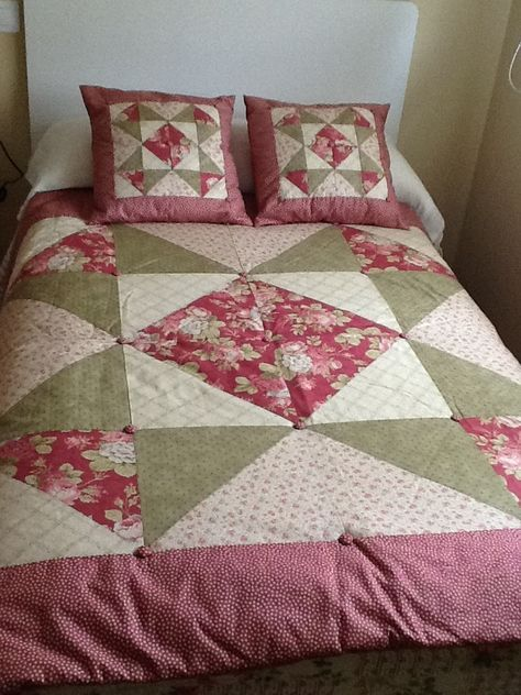 Colchas patchwork crubecamas colchas patrones de - Patrones para colchas de patchwork ...