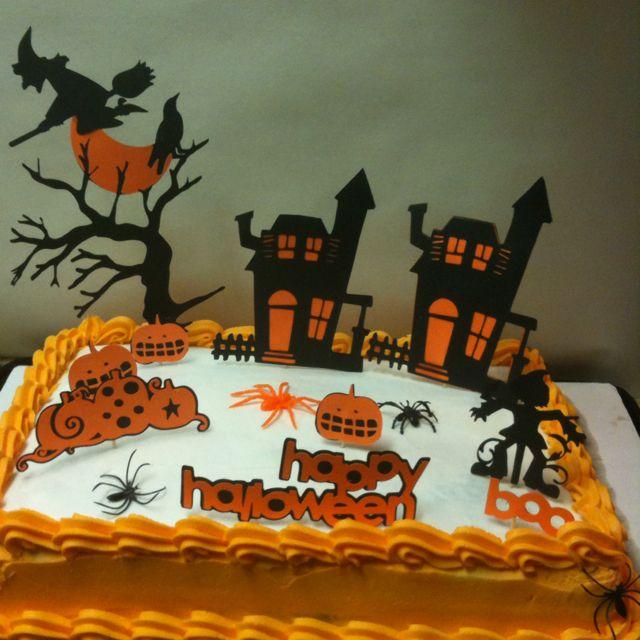Halloween cake CAKES Pinterest Halloween cakes, Halloween and - decorating halloween cakes