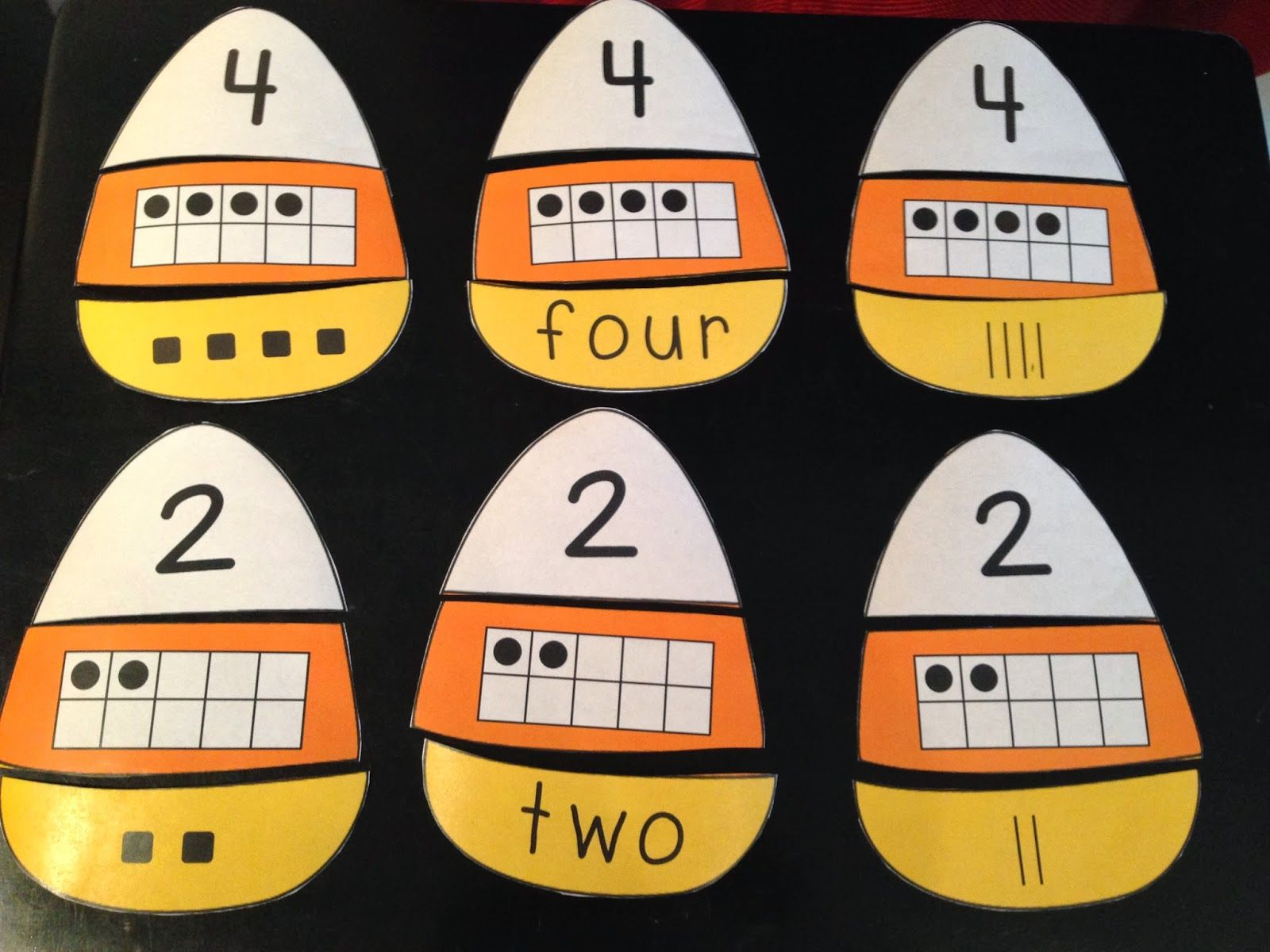 Fall Themed Number Awareness Activity Great Use Of Ten