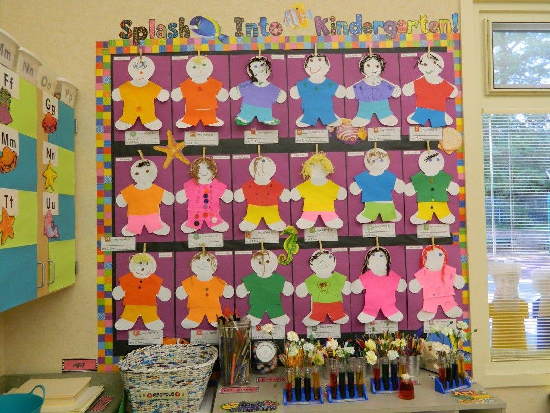 Great Bulletin Board Idea To Welcome Kindergarteners