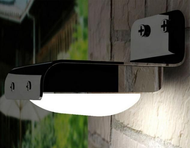Pir Solar Powered Led Wall Lamp 16, Wireless Outdoor Lights With Sensors