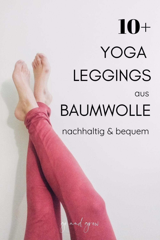 yoga leggings aus baumwolle für unter 50 euro | yoga