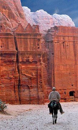 Just the name Petra alone evokes magic, like Xanad, Shangri-La, or Timbuktu - Bruce Feiler in Walking the Bible #petrajordan