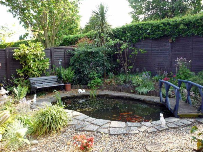 Gartenteiche bereichern ihren garten mit einer magischen for Gartenteich ohne fische