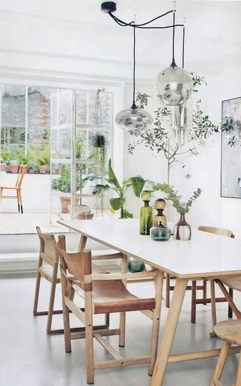 80 Heavenly Modern Farmhouse Dining Room Decor Ideas images
