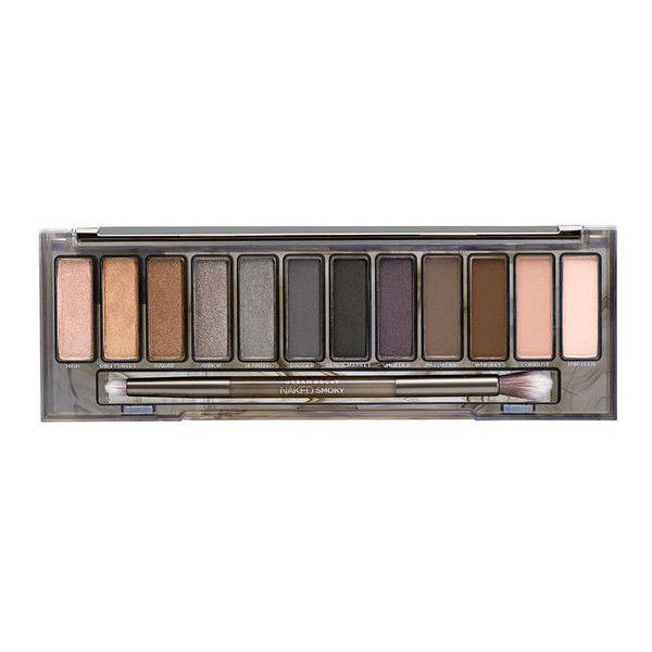 Naked Smoky Eyeshadow Palette (450 NOK) ❤ liked on Polyvore featuring beauty products, makeup, eye makeup, eyeshadow, beauty, urban decay eye shadow, urban decay, urban decay eye makeup, palette eyeshadow and urban decay eyeshadow