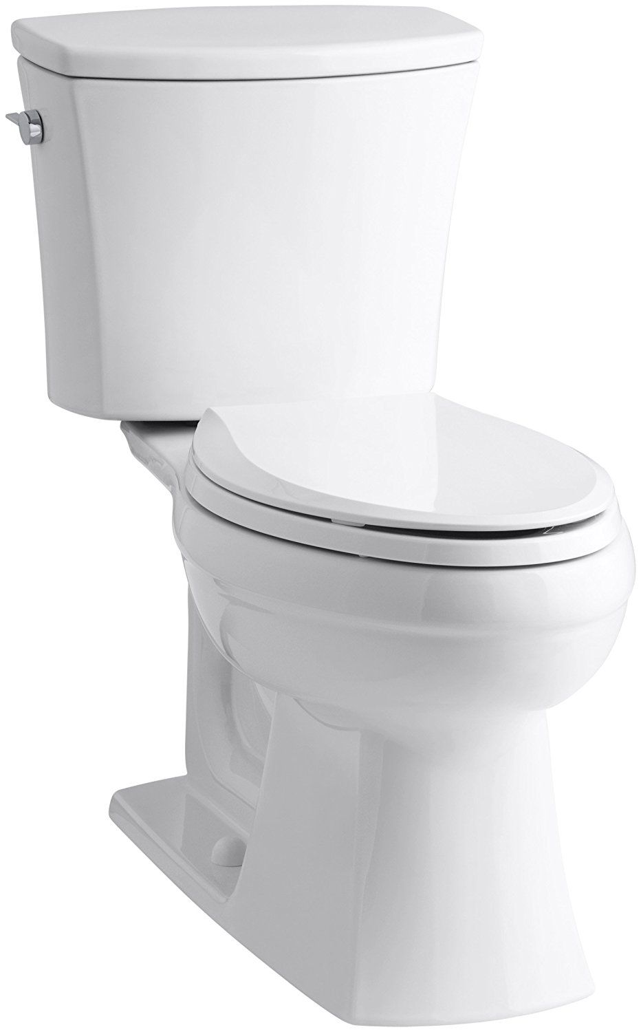 KOHLER K-3755-0 Kelston Comfort Height Two-Piece Toilet with 1.28 ...