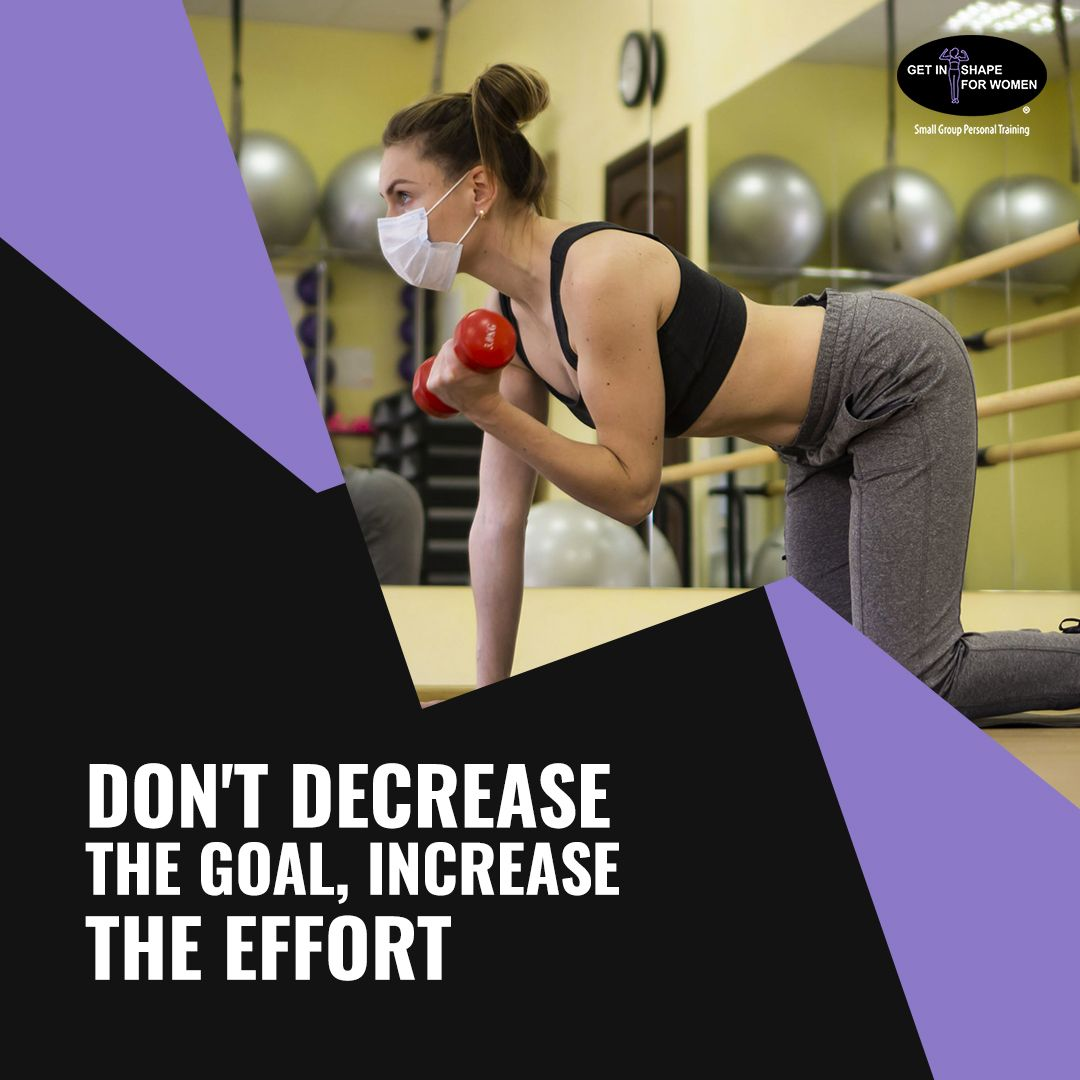 When you have a goal you have to do the work. NO EXCUSE!! Let us help you to achieve the goal in less time. We use a variety of equipment throughout each workout that will keep you constantly progressing towards your goal! #getinshapeforwomenneedham #gisfw #womenworkout #strongwomen #personaltraining #challengeyourself #womenfitness #motivation #fitness #quarantine #gym #gymmotivation #gymquotes #gymtip #gymadvice